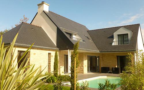 Construction de maisons morbihan bretagne for Construction maison neuve 3d