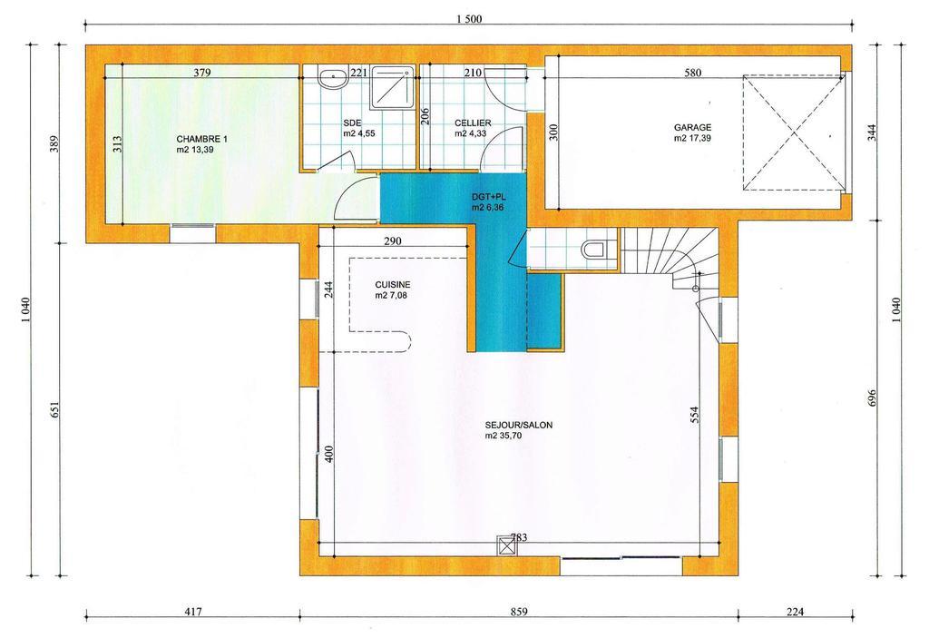Prix maison neuve au m2 great maison neuve de plain pied for Prix du m2 construction neuve
