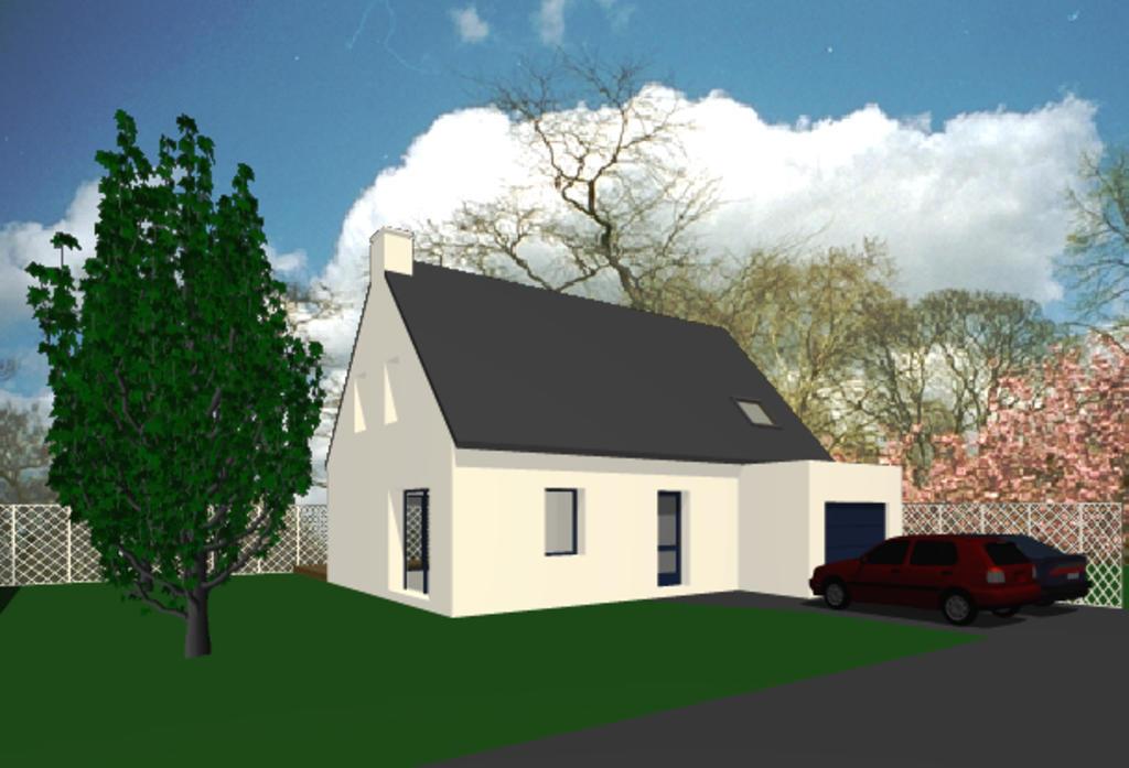 Saint pierre quiberon maison de 115 m2 morbihan 56 for Prix moyen m2 construction neuve rt 2012