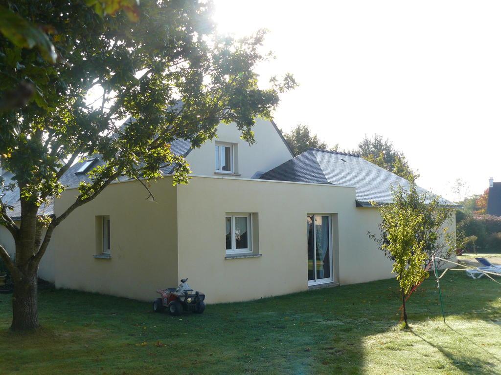 Extensions de maisons en morbihan constructions du golfe for Construction extension maison