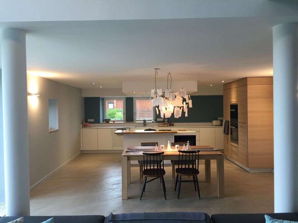Cuisines r alis es dans nos constructions for Interieur longere